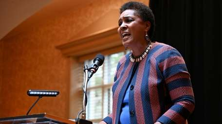 Professor Gloria Browne-Marshall was keynote speaker Saturday at