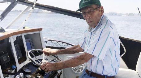 Norman Aripotch, a World War II veteran and