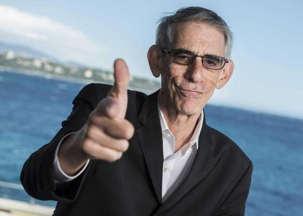 Richard Belzer poses for a portrait session during