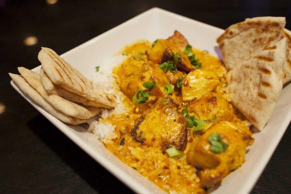 Chicken tikka masala is popular in England, and