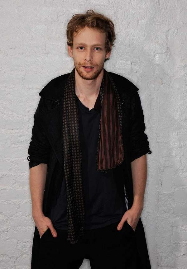 Actor Johnny Lewis visits the Tribeca Film Festival