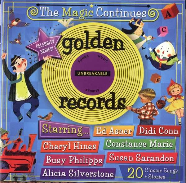 The cover of quot;Golden Records.quot;