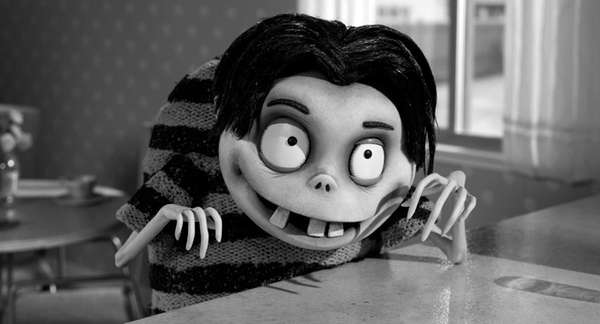 """Frankenweenie"" is a new stop-motion, animated comedy from"
