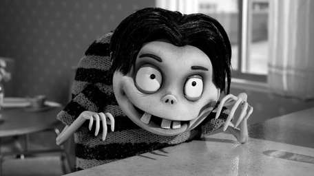 Frankenweenie Review Tim Burton Resurrects Disney Dog Newsday