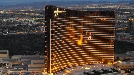 The Wynn hotel in Las Vegas. Steve Wynn,