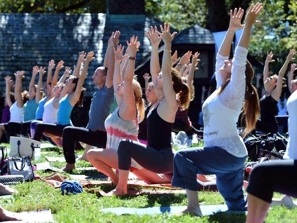 The One Love Long Island Yoga Festival 2012