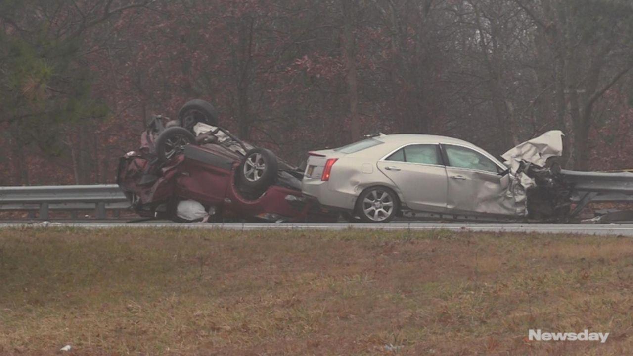 A Bellport man involved ina fatal crash on
