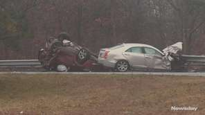 A Bellport man involved in a fatal crash on