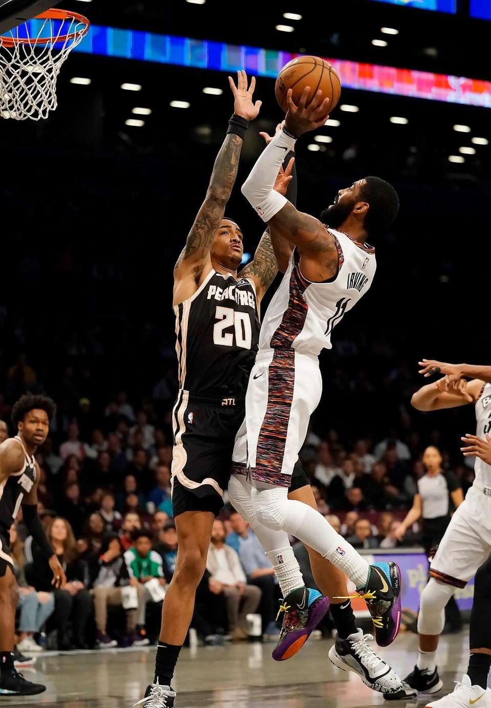Brooklyn Nets guard Kyrie Irving (11) with the