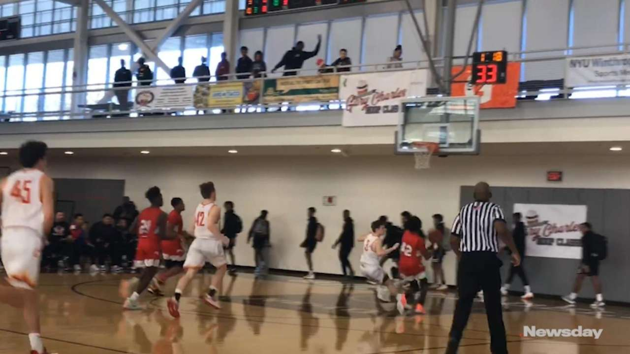 Center Moriches defeated Chaminade, 64-62, at the Gary