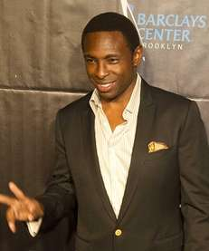 Brooklyn Nets head coach Avery Johnson stops for