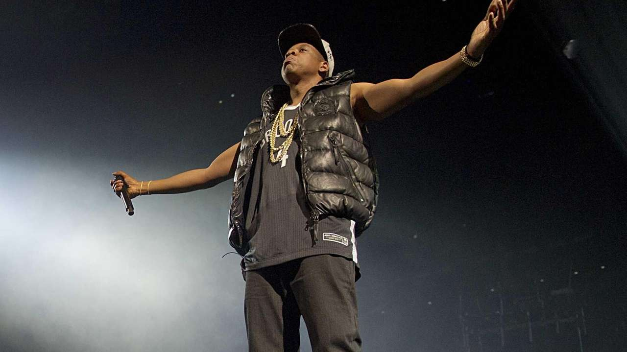 Jay-Z performs on the opening night of the