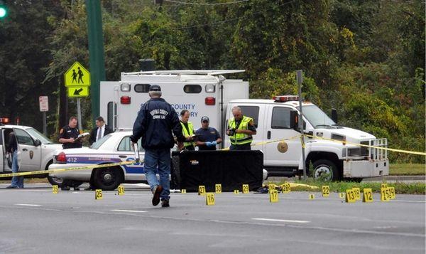 Investigators are at the scene of a fatal
