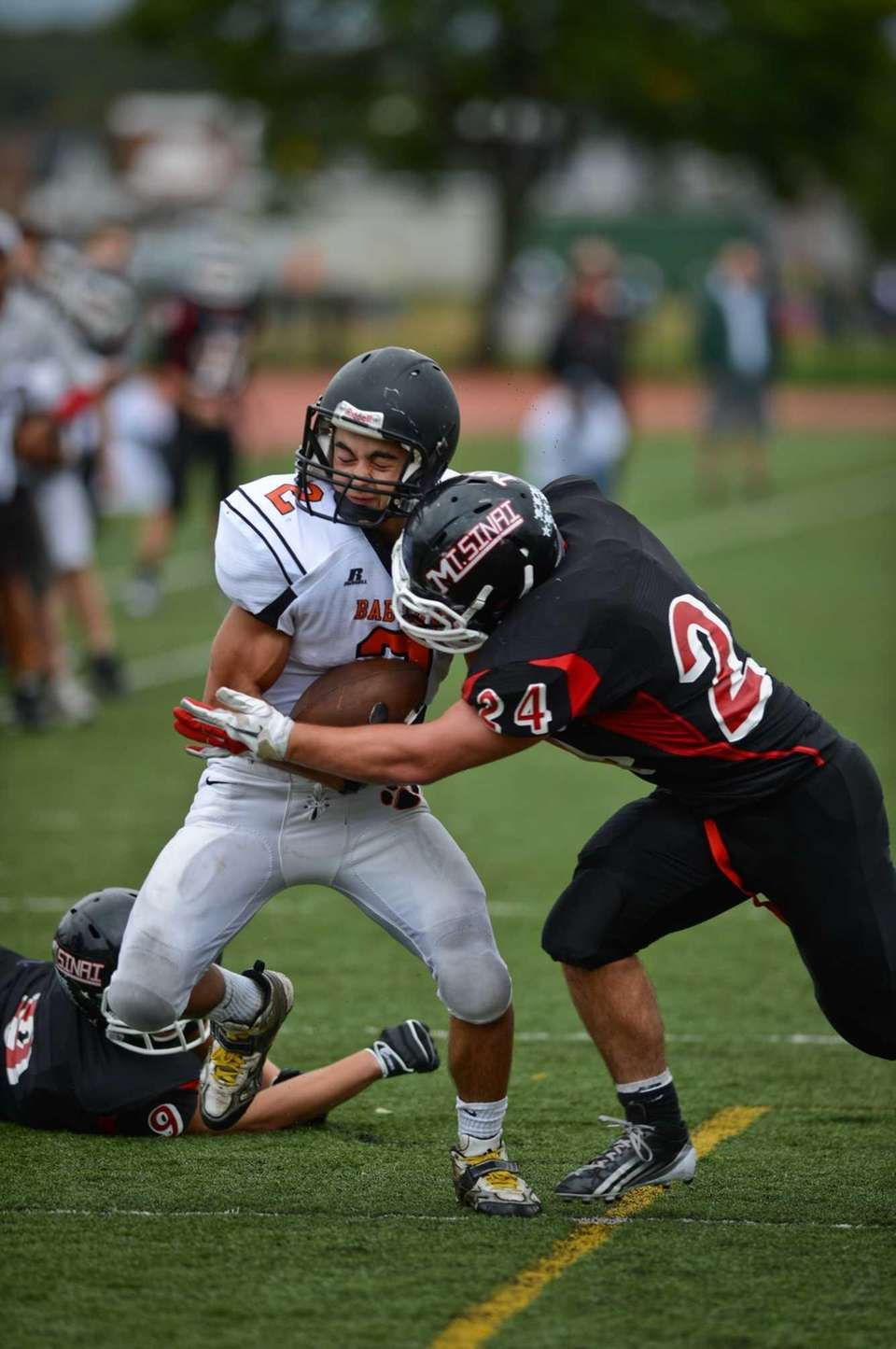 Babylon's Luke Zappia runs the ball. (Sept. 29,