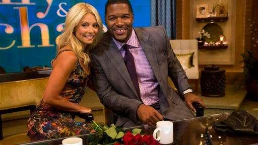 Michael Strahan joins Kelly Ripa as the new