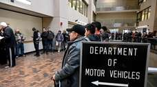 DMV offices across Long Island have been inundated