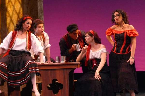 "The Long Island Opera performed ""Carmen"" at Guild"