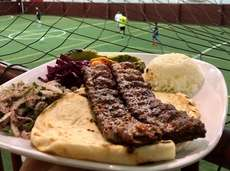 Adana kebab at Cafe Timboo in Smithtown, a