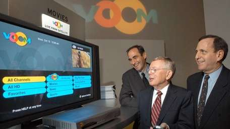 At a Manhattan news conference in 2003, Rainbow