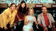 Ethan Embry, left, Marisol Nichols, Beverly D'Angelo and