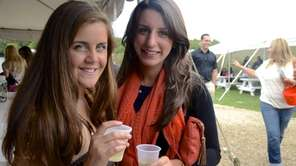 Lauren Cirillo, 22, of Smithtown, and Jacqueline King,