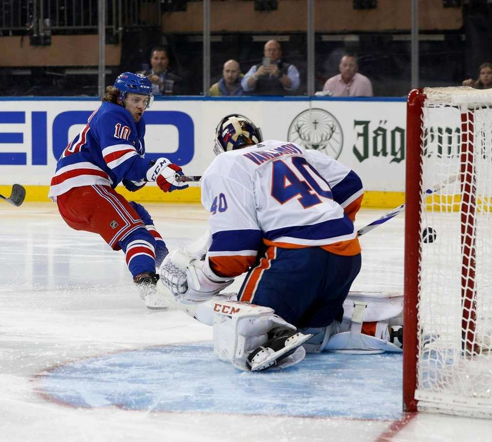 Artemi Panarin #10 of the New York Rangers