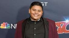 "Luke Islam arrives at the ""America's Got Talent"""