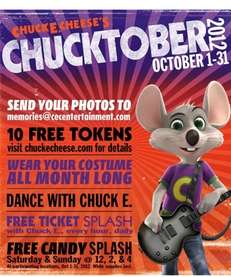 """Chucktober 2012"" takes place at Chuck E. Cheese's"