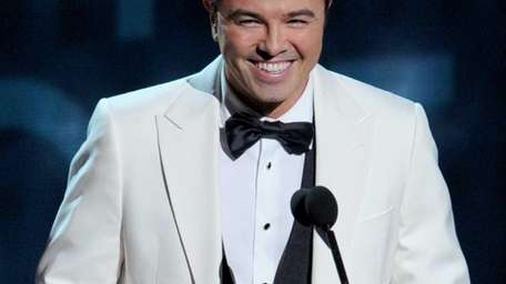 Seth MacFarlane onstage during the 64th Annual Primetime