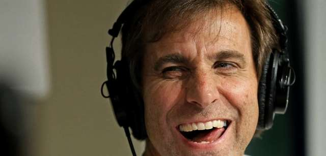 "Radio personality Chris ""Mad Dog"" Russo smiles during"