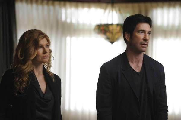 Connie Britton and Dylan McDermott of