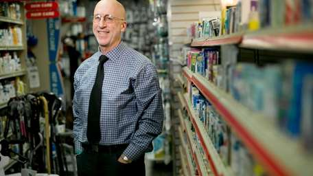 Howard Jacobson, owner of three pharmacies in Rockville