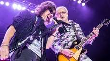 Kelly Hansen, left, and Mick Jones of Foreigner