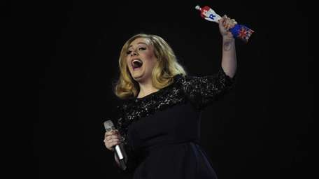 British singer-songwriter Adele has sung the theme song