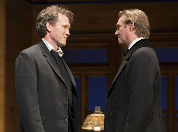 Boyd Gaines, left, and Richard Thomas in a