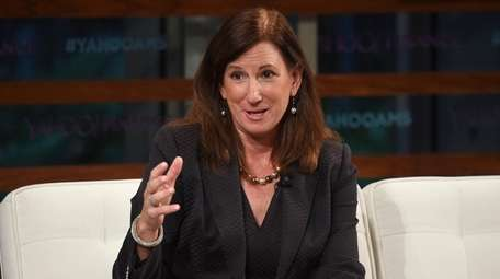 Cathy Engelbert participates in the Yahoo Finance All