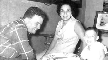 Sam Morhaim's parents, Julio Rodriguez and Victoria Rodriguez,