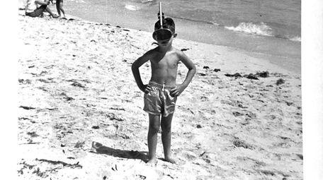 Jimmy Morhaim, 4, at Varadero beach, known in