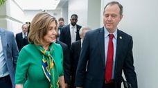 House Speaker Nancy Pelosi and House Intelligence Committee