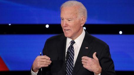 Former Vice President Joe Biden at the Democratic
