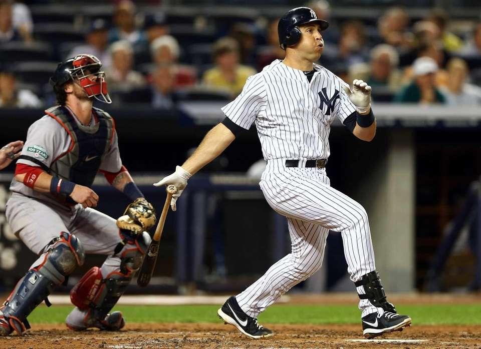 Mark Teixeira hits a two-run home run. (Oct.