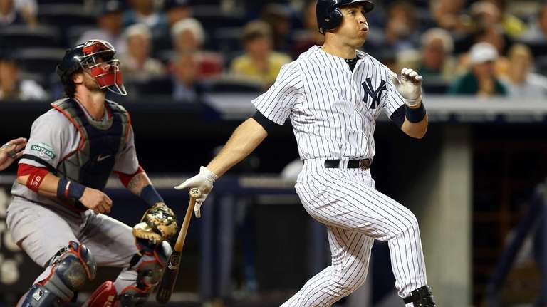 Mark Teixeira hits a two-run home run. (Oct.