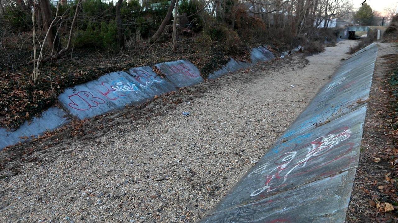 Motts Creek is one of dozens of streams