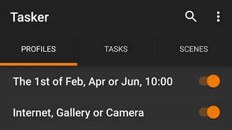 The Android-exclusive app Tasker lets users automate repetitive
