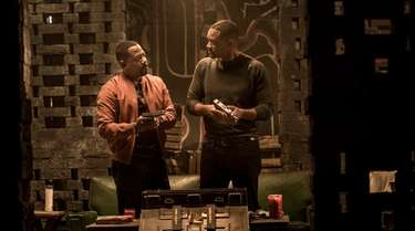 Martin Lawrence as Detective Marcus Burnett and Will
