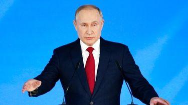 Russian President Vladimir Putin addresses the State Council