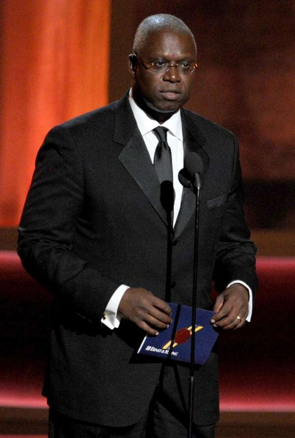 Actor Andre Braugher speaks onstage during the 64th