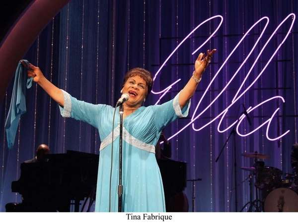 Tina Fabrique plays Ella Fitzgerald in the musical