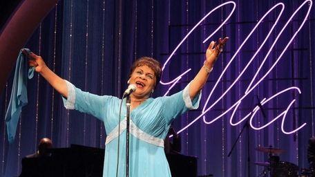 Tina Fabrique plays Ella Fitzgerald in the musical