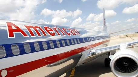 American Airlines says passenger seats on a third
